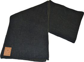 Jeep Knitted Scarf - Navy Blue