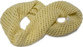 Jeep Knitted Snood - Winter White