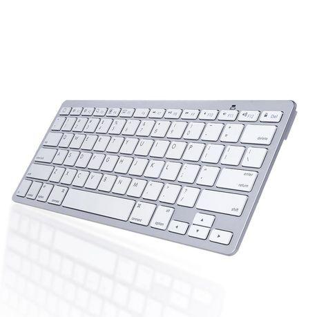 4ebcf4db010 Slim Mini Wireless Bluetooth Keyboard For Windows/Smartphone/Android/iOS/ iPad/iPhone/PC/Tablet - White