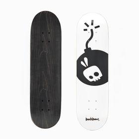 Bun&Bunee Tha Bomb Deck - Black/White