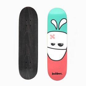 Bun&Bunee Bun Head Deck- Teal/White/Red