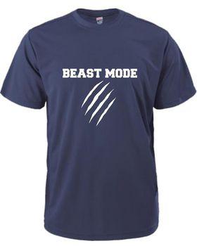 Beast Mode Men's T-Shirt - Navy