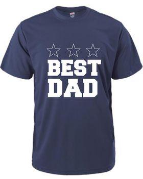 Best Dad Men's T-Shirt - Navy