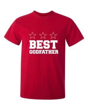 Best Godfather Men's T-Shirt - Red