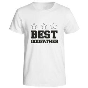 Best Godfather Men's T-Shirt - White