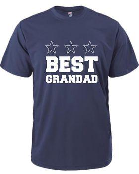 Best Grandad Men's T-Shirt - Navy