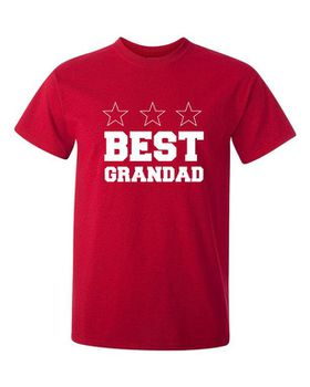 Best Grandad Men's T-Shirt - Red