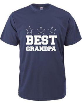 Best Grandpa Men's T-Shirt - Navy