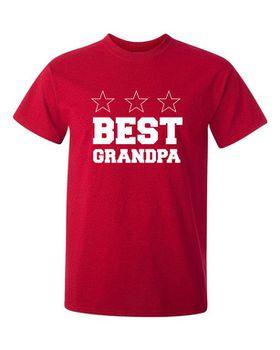 Best Grandpa Men's T-Shirt - Red