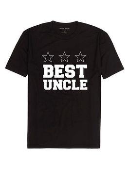 Best Uncle Men's T-Shirt - Black