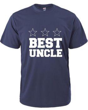 Best Uncle Men's T-Shirt - Navy