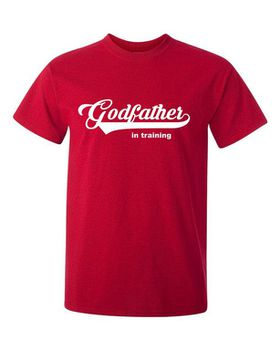 Godfather In Training Men's T-Shirt - Red