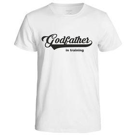 Godfather In Training Men's T-Shirt - White