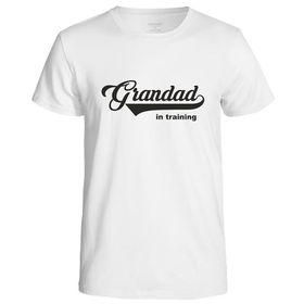 Grandad In Training Men's T-Shirt - White