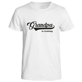 Grandpa In Training Men's T-Shirt - White