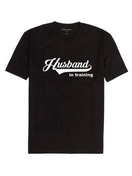 Husband In Training Men's T-Shirt - Black