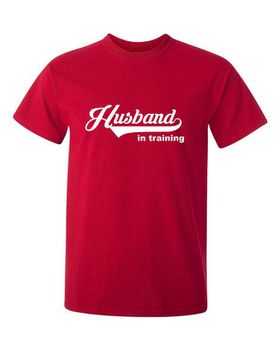 Husband In Training Men's T-Shirt - Red