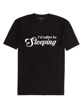 I'D Rather Be Sleeping Men's T-Shirt - Black