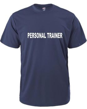 Personal Trainer Men's T-Shirt - Navy