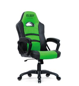 El33t Essential Gaming Chair - Black & Green