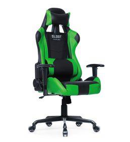 El33t Elite Gaming Chair - Black & Green