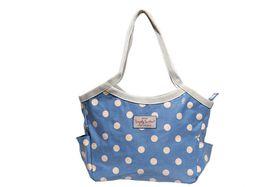 Bucket Bag - Blue Polka Dot