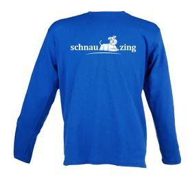 Schnauzing Unisex Long Sleeve T-Shirt - Royal Blue