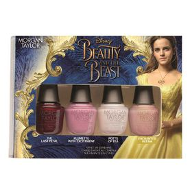Morgan Taylor Beauty And The Beast Mini 4 pack - Assorted