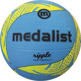 Medalist Ripple Netball Size 5 - Blue