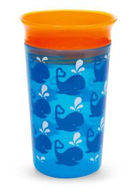 Munchkin - 266ml Decorated Miracle Cup - Whale