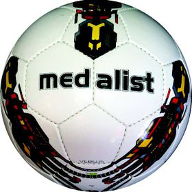 Medalist Versus Soccer Ball Size 5 - Red/Yellow