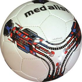 Medalist Versus Soccer Ball Size 5 - Blue/Red