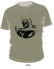 Star Wars Boba Fett Badge T-Shirt