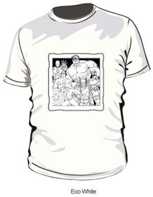 Marvel Avengers Comic T-Shirt