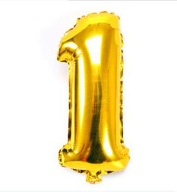 "Gold Foil Balloon 1 (Size: 35"" x 45"")"
