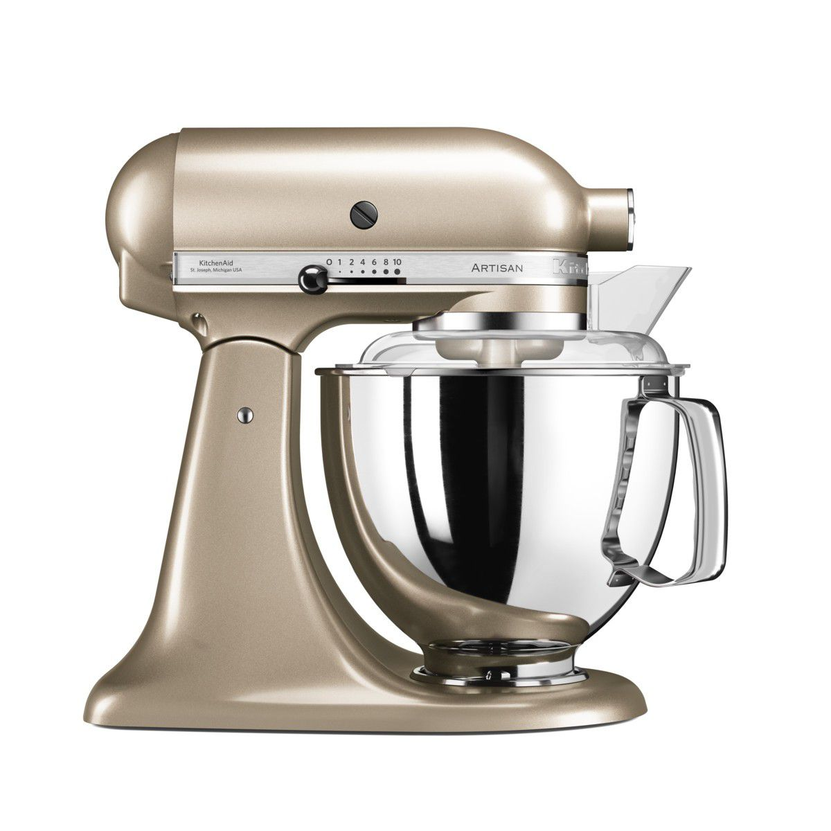 Kitchenaid 4 8 Litre Stand Mixer Golden Nectar 5ksm175psecz Online In South Africa Takealot
