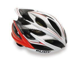 Rudy Project Windmax Helmet L/XL - Shiny White/Red Fluo