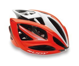 Rudy Project Airstorm Helmet S/M - Red Fluo/White Shiny