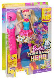 Barbie Video Game Hero Light-up Skates Doll