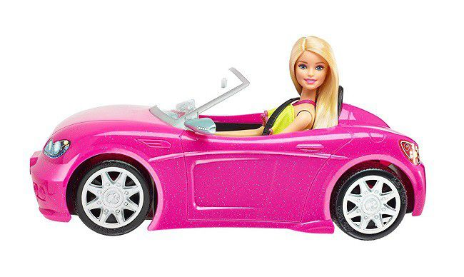 barbie glam vehicle convertible buy online in south. Black Bedroom Furniture Sets. Home Design Ideas