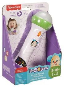 Fisher-Price Laugh & Learn Rock & Record Mic