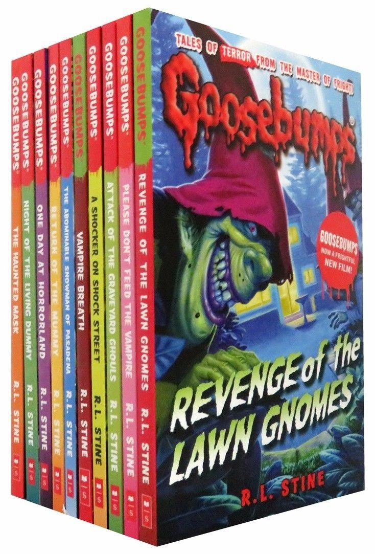 Goosebumps series horrorland series 10 books collection buy goosebumps series horrorland series 10 books collection fandeluxe Gallery