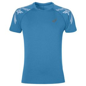 Men's ASICS Stripe Short Sleeve Top