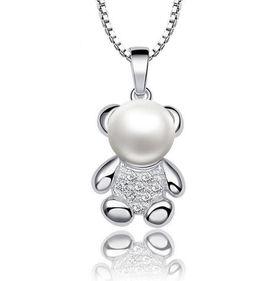 Treasures Cute Bear Pendant Necklace