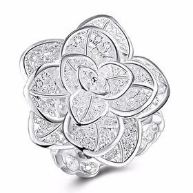 Treasures Adjustable Rose Bloom Ring