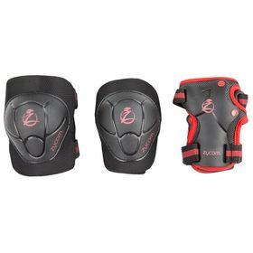 Zycomotion - Zycom Protection Child Combo Set - Black/Red