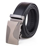 Wave Buckle with Black Strap