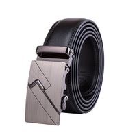 Touch Silver Buckle with Black Strap