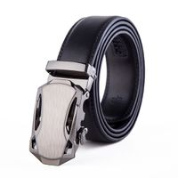 Muscle Buckle with Black Strap