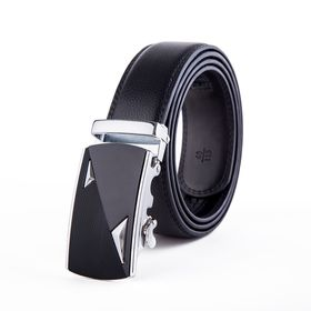 Leader Buckle with Black Strap